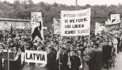 Politiska demonstrācija Eslingenā, 1948.g.