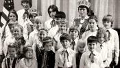 Syracuse Latvian School students, 1976