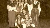 Washington DC folk dancing group, 1954