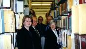 Inta Šrāders, 1998.gadā apmeklē Minesotas Universitātes Imigrācijas vēstures pētniecības centru, kur glabājas ALAs un citu diasporas latviešu galvenie arhivi