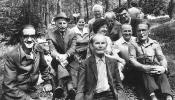 Gathering of Bashkortostan Latvians in Mežaparks, 1970s