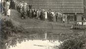 Baptistu kristības pie Palmas aizsprosta, 1930. g.