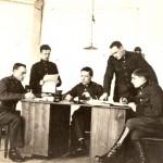 Albīns Simsons ar darba biedriem, 1921.g.-1923.g.