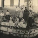 """""""Biscaya"""" ceļojuma laikā bieži apmeklēja dažādi viesi"""