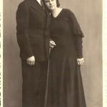 Albīna un Zelmas Simsonu kāzas, 1934.g.